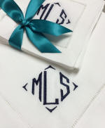 Richard Signature Monogram Napkins, Placemats & Guest Towels
